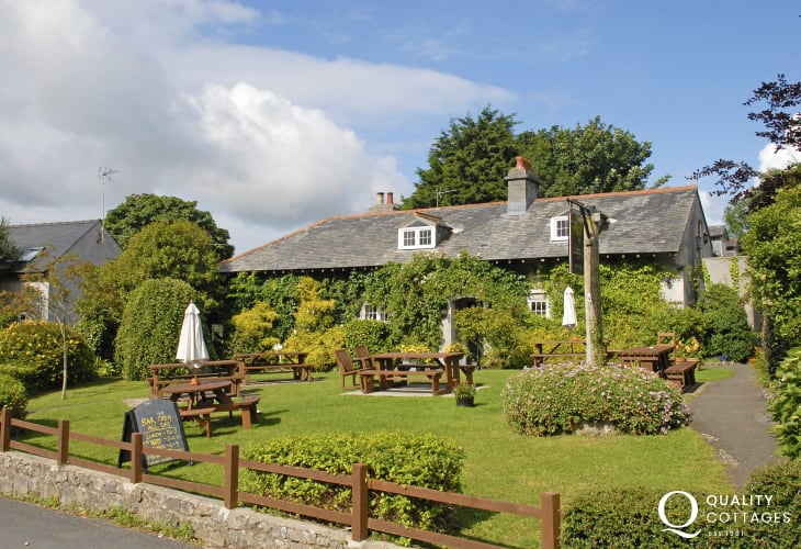 Stackpole Inn - a lovely place for lunch or dinner
