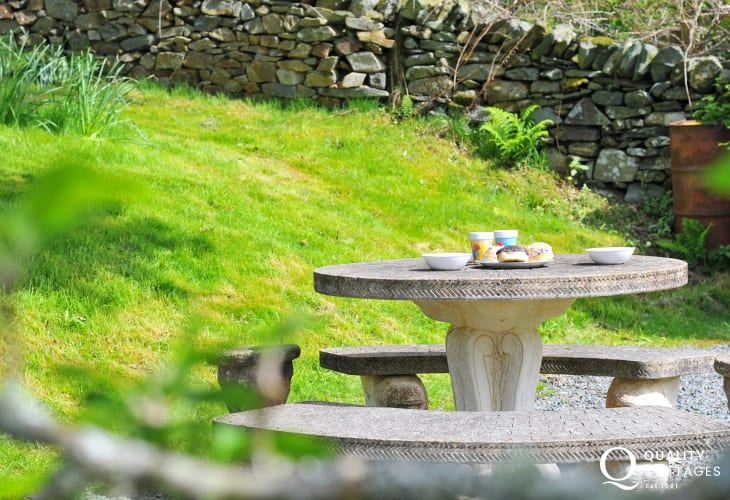 North wales holiday cottage  - garden