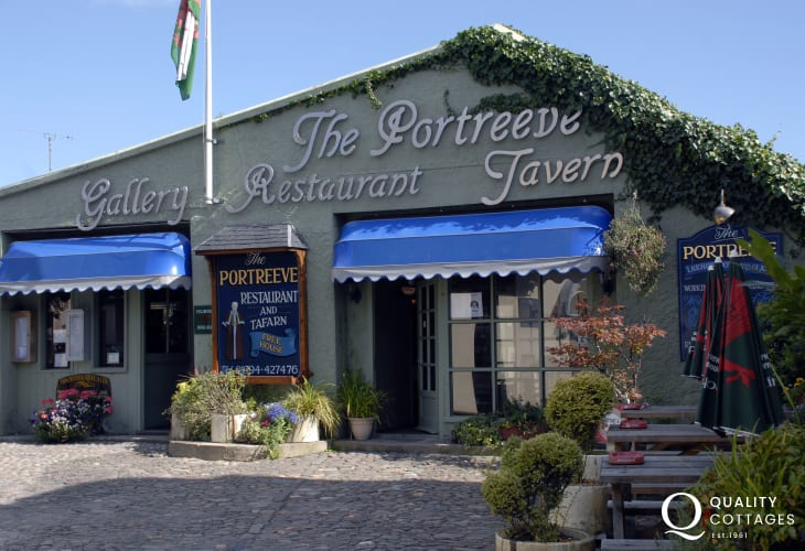 Try Portreeve's Restaurant for excellent food in a lovely, relaxed atmosphere