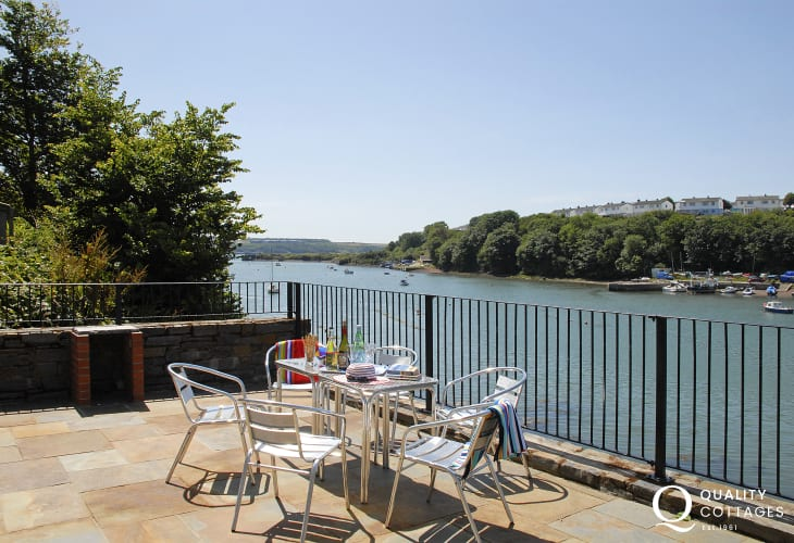 Stunning views from this luxury waterside holiday home