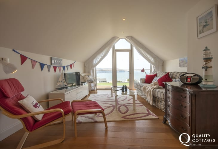 Coastal Cardigan home - first floor sitting room