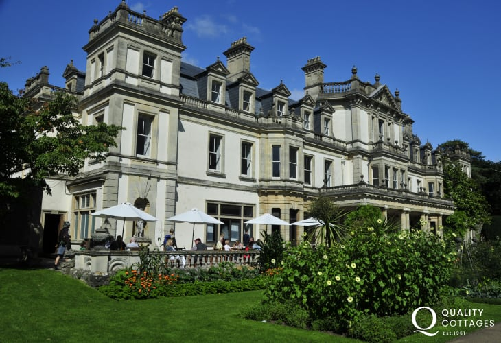 Visit Dyffryn House and Arboretum - the magnificent mansion overlooking Dyffryn Gardens which are breathtaking