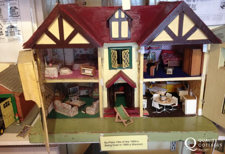 Visit the Dolls House and Toy Museum in Newport - nostalgic, fun and fascinating!