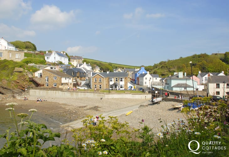 Little Haven is a pretty seaside village with a choice of three good pubs to choose from