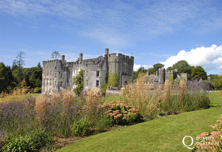 Picton Castle - 40 acres of stunning gardens, birds of prey displays, woodland walks and a range of activities all year round