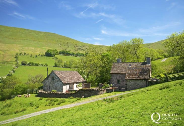 Hay on Wye holiday house sleeps 10