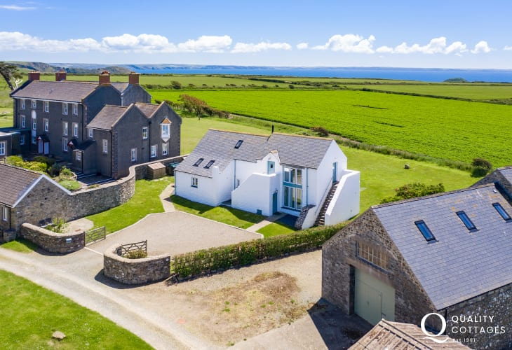 North Pembrokeshire luxury holiday home