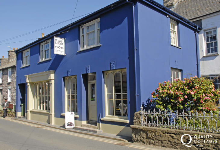 St Davids Gin Kitchen - a very good restaurant with friendly, knowledgeable staff