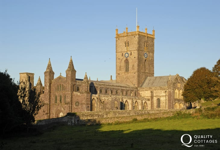 St Davids Cathedral lies in the heart of Britain's smallest city
