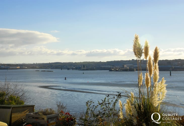 Stunning views across the ever-changing Haven Waterway from almost every room in this cosy waterside home