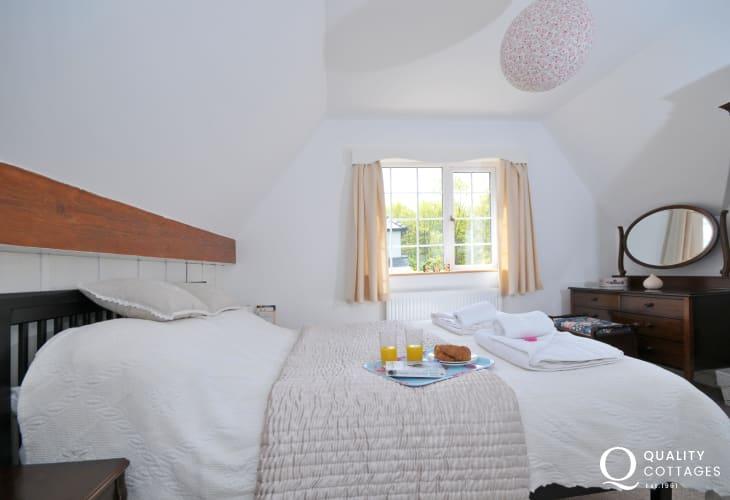 Luxury cottage Snowdonia - bedroom