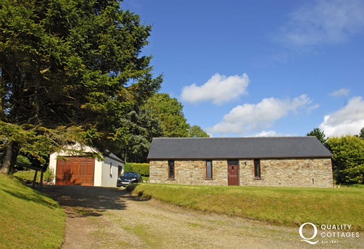 Welsh barn conversion on Cardigan Bay Heritage Coast