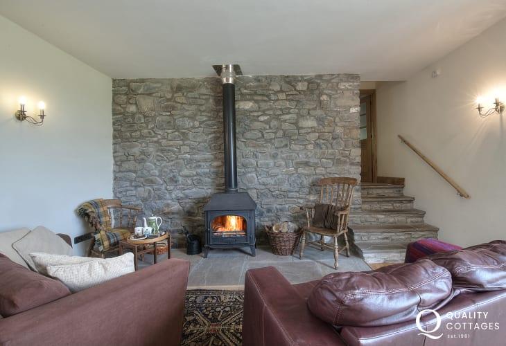 Holiday house sleeping 10 Wales - sitting room