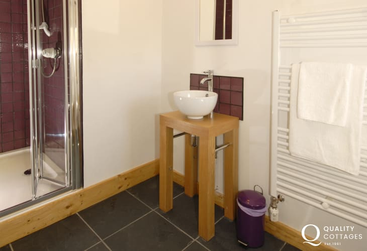 Pembrokeshire holiday home - en-suite shower