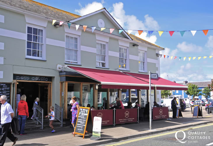 Try The New Celtic Cafe, Aberaeron for mouthwatering fish and chips