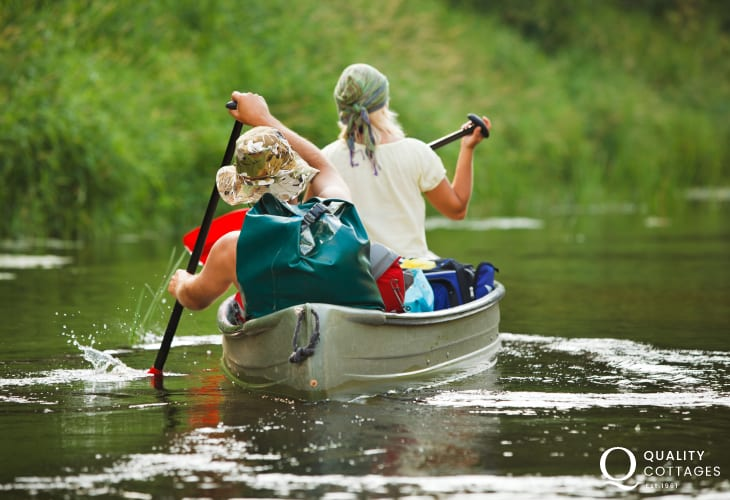 Make a journey of discovery along the Teifi River with Heritage Canoes