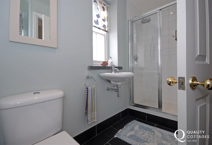 Ground floor double walk in shower room