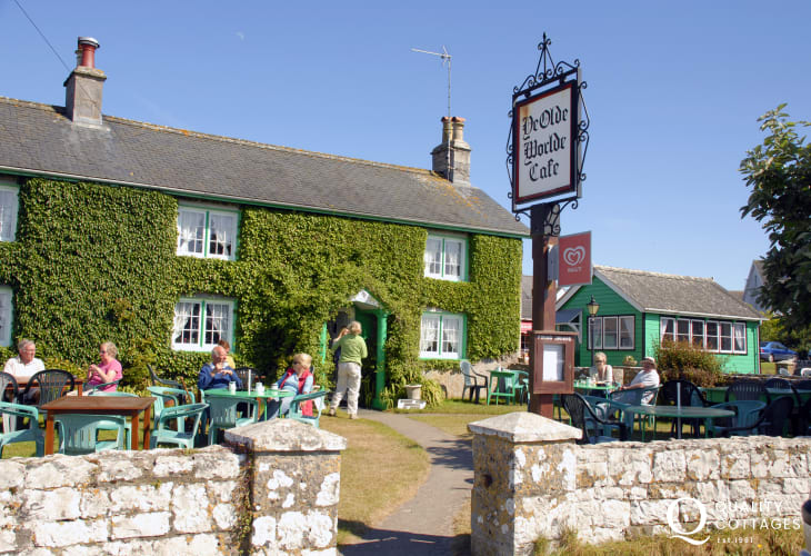 Ye Olde Worlde Tea Room in Bosherston - the menu remains unchanged for over 50 years
