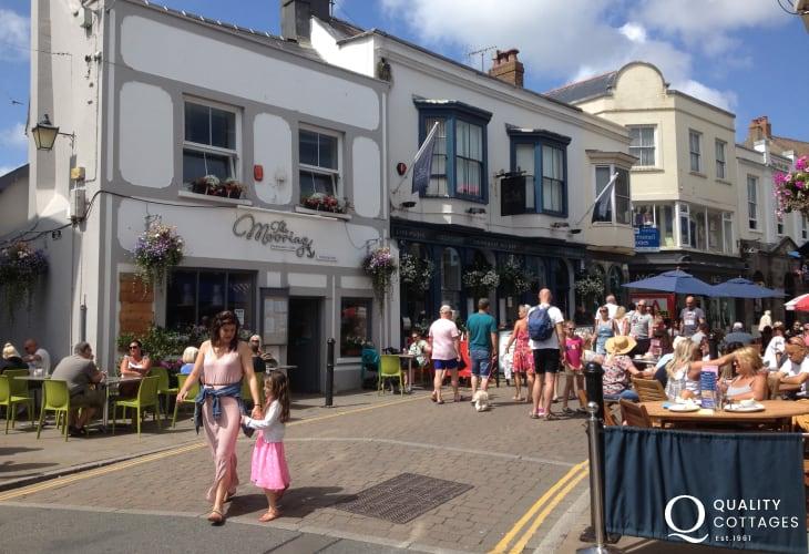 Tenby - full of interesting shops, galleries, cafes, pubs, restaurants plus 5 (Blue Flag) sandy beaches