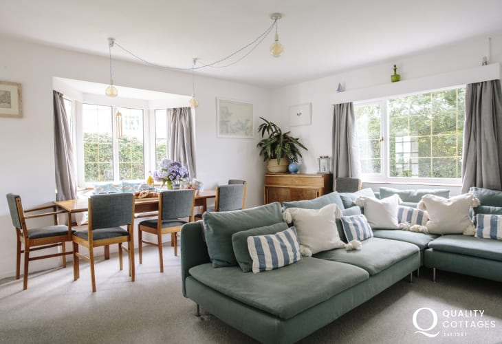 Morfa Nefyn holiday cottage - lounge/dining