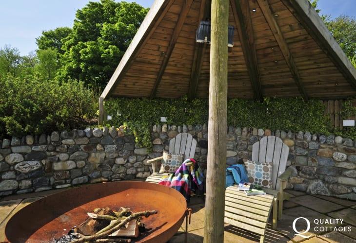 Abersoch holiday cottage - garden