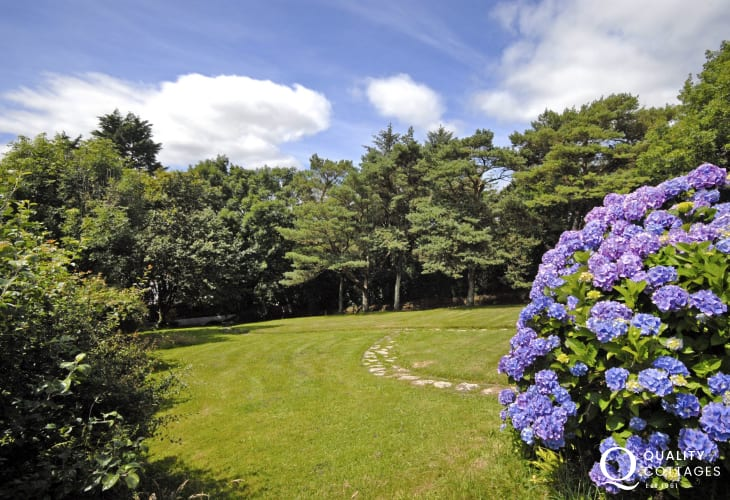 Pet friendly Wisemans Bridge holiday home with large garden