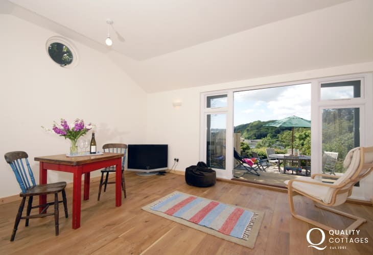 The Shed at Monkstone View - a spacious room for games and relaxation