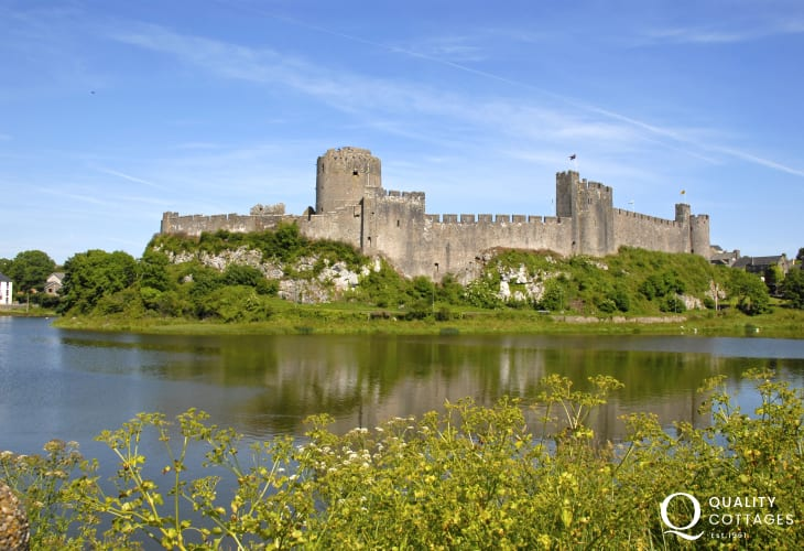 Magnificent Pembroke Castle