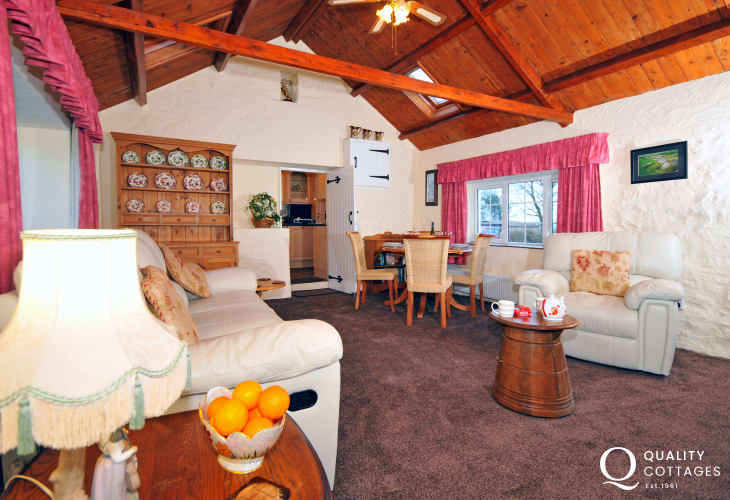 Holiday cottage Morfa Nefyn - lounge/diner