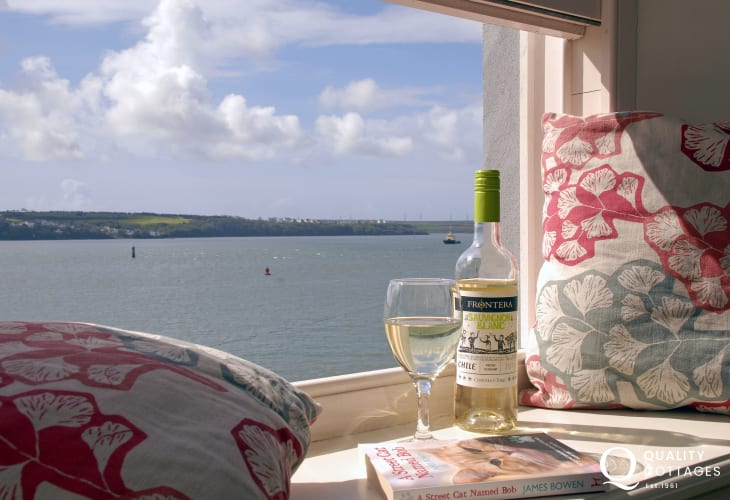 Enjoy the stunning views across the everchanging Haven Waterway from almost every roon in the house