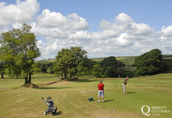 Trefloyne Golf Club - an 18 hole parkland course set in beautiful mixed woodlands and welcomes non members