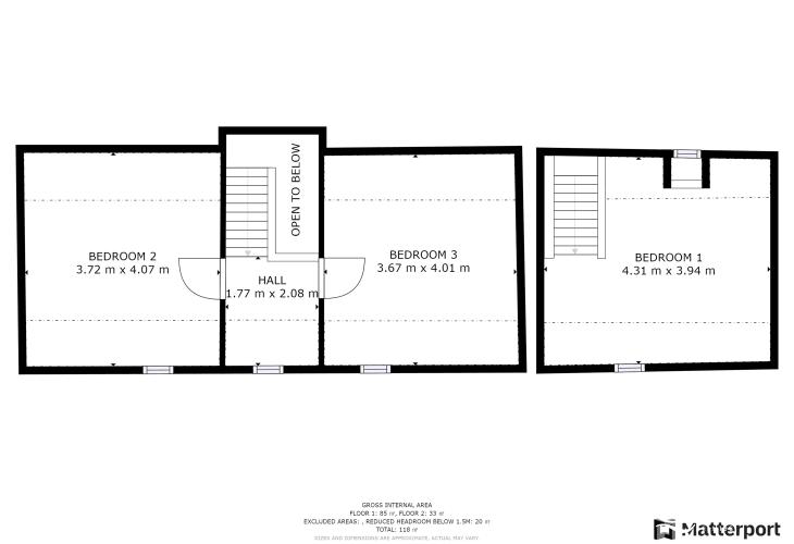 dairy at east hook floor plan of 1st floor