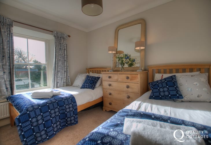 St Davids holiday home with views over the garden