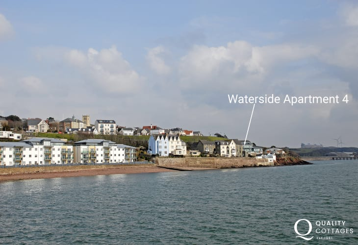 South Pembrokeshire holiday apartment on the banks of the Haven Waterway