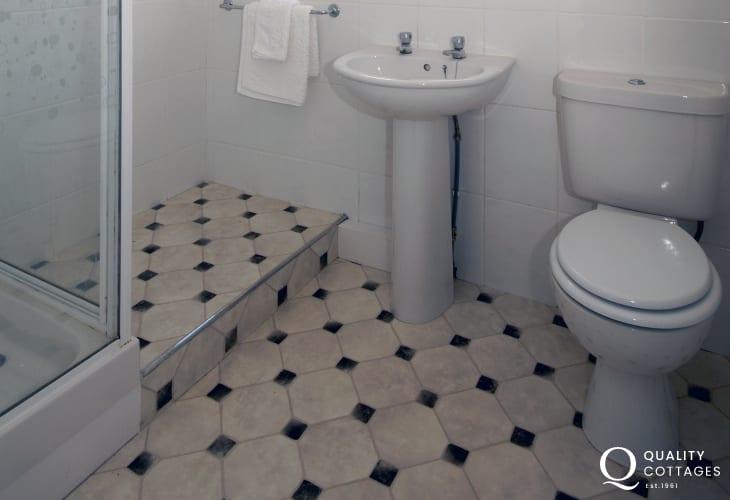 Pembrokeshire holiday cottage - bathroom
