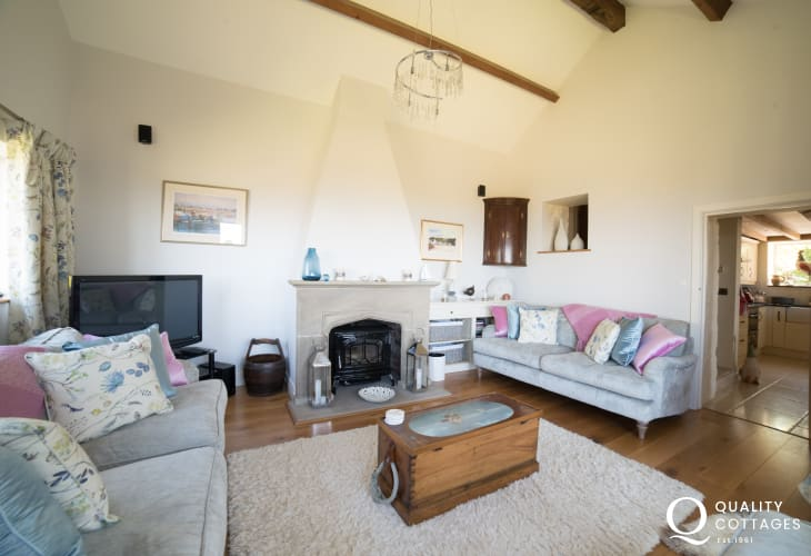 Coastal cottage Llyn Peninsula  - lounge