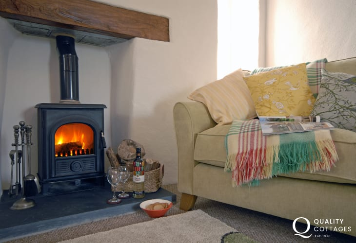 St Davids cosy holiday cottage with log burning stove - dogs welcome
