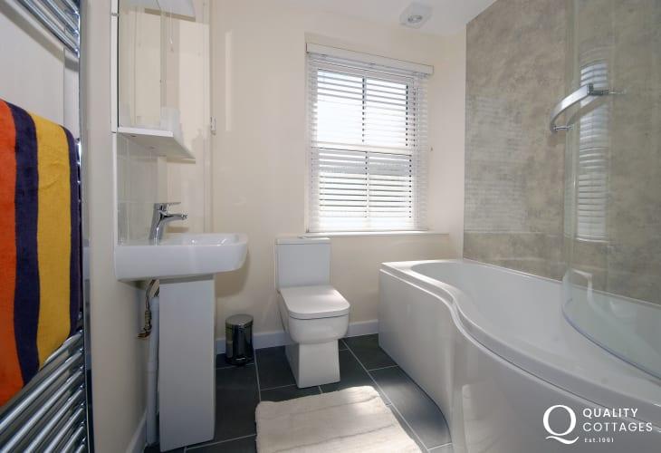 Gwaun Valley holiday cottage - ground floor family bathroom