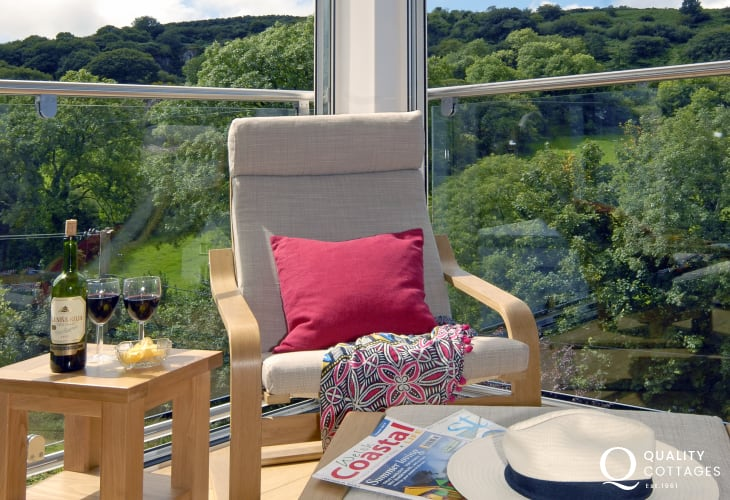 Relax and enjoy peace and tranquility at this Gwaun Valley holiday home
