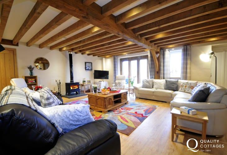 Large holiday house Wales - lounge