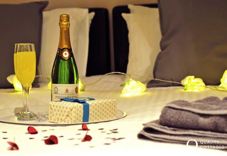Luxury venue Wales - bedroom