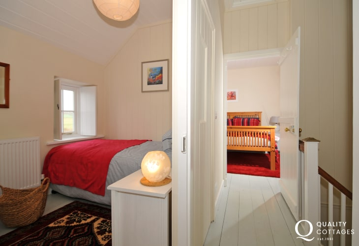 Pembrokeshire holiday cottage - landing