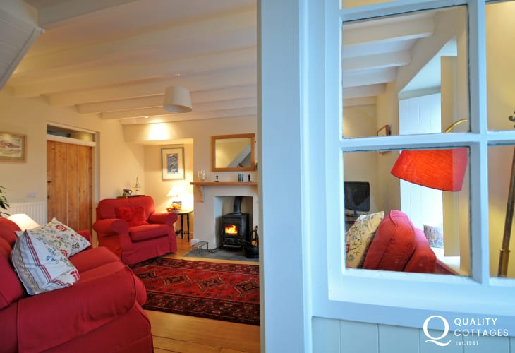 Pembrokeshire luxury holiday cottage - lounge