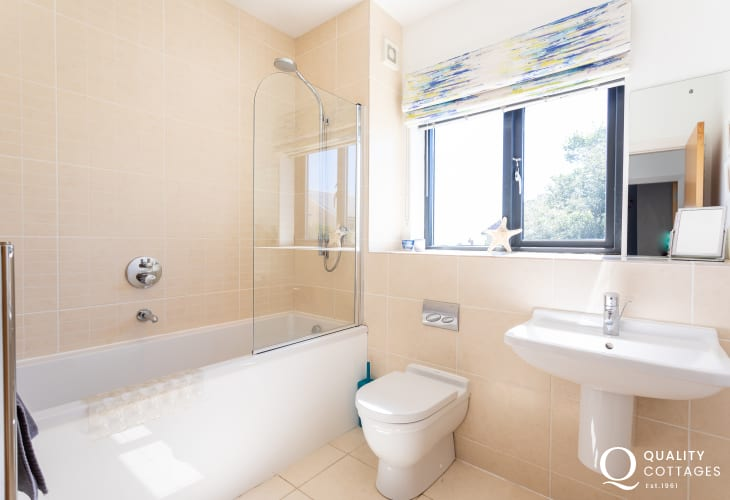 Large North Wales house - family bathroom