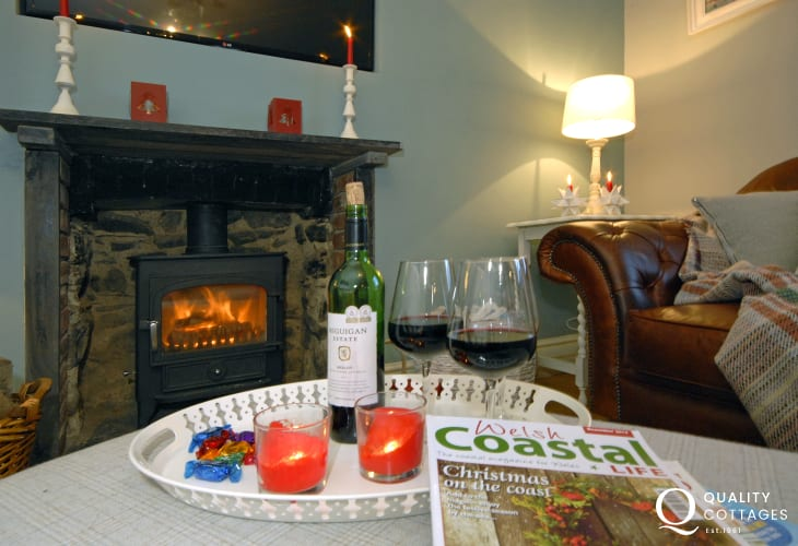 Rhos y Cribed near Whitesands and St Davids - warm and cosy throughout the year