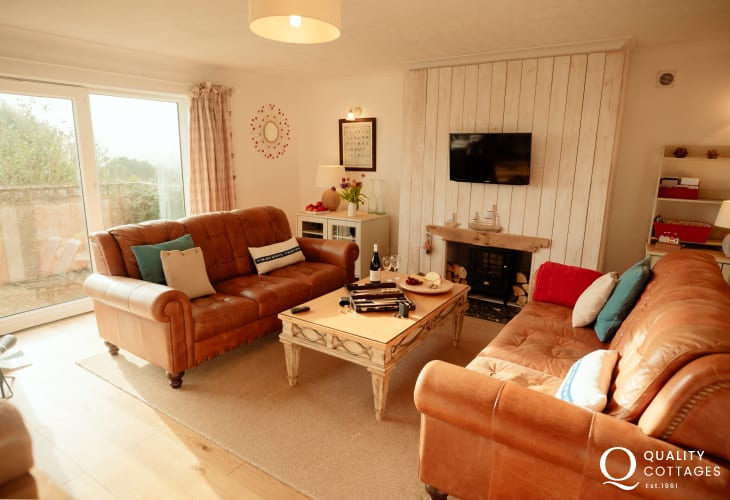 Rhossili Down holiday accommodation - lounge