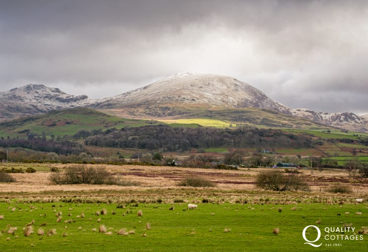 Country View in Anglesey