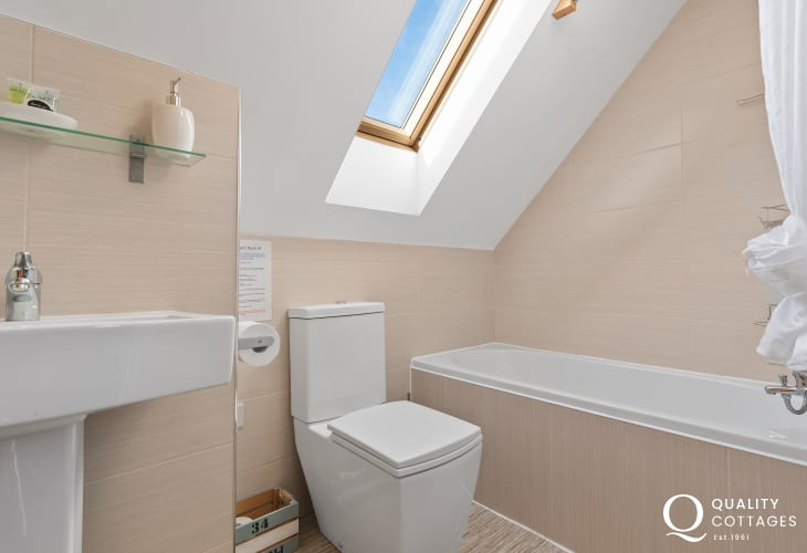 First floor bathroom with Velux