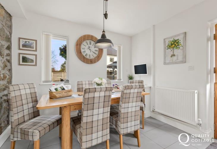Dining Room with stable door to garden