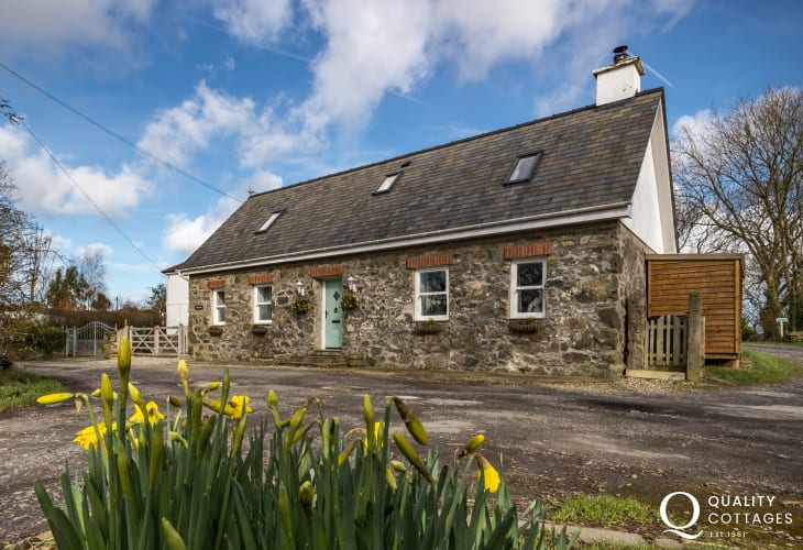 Exterior North Wales holiday cottage